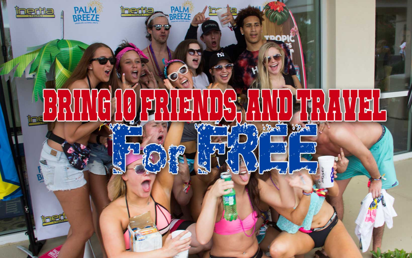 Free spring break travel